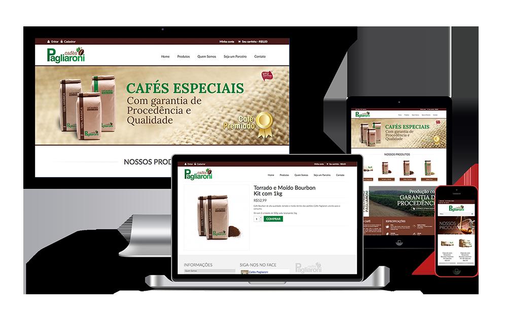 criacao-site-cafespagliaroni
